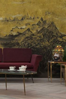 Mountains Wallpaper Mural - Kami Chai 7900021 - MURAL