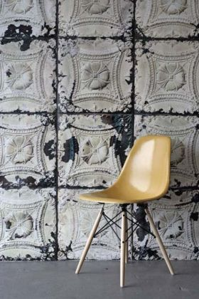 NLXL TIN-01 Brooklyn Tin Tiles Wallpaper By Merci - ROLL