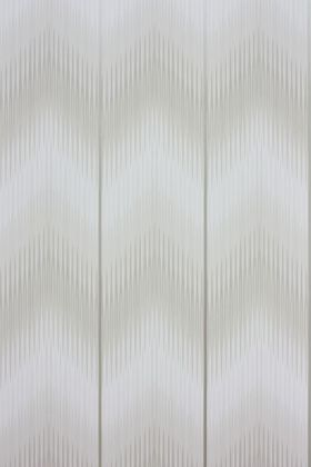 detail image of Matthew Williamson Danzon Wallpaper - Ivory W6802-03 - ROLL ivory smudged zig-zag pattern