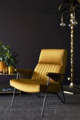 Image of the Retro Amber Armchair