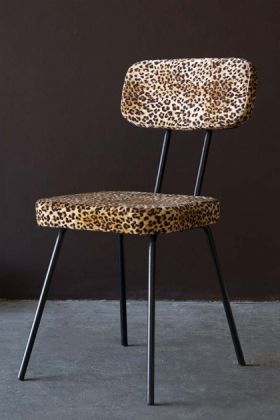 Rockett St George Leopard Love Leopard Print Dining Chair