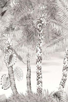 Designers Guild Belles Rives Collection - Croisette Wallpaper Panel - Nacre PCL022/02 - ROLL
