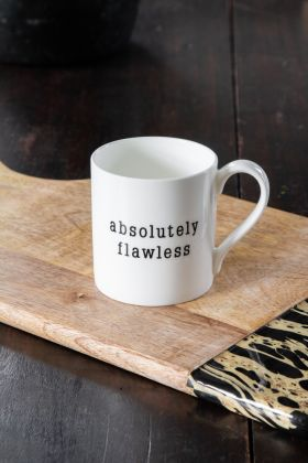 Lifestyle image of the Absolutely Flawless Mug