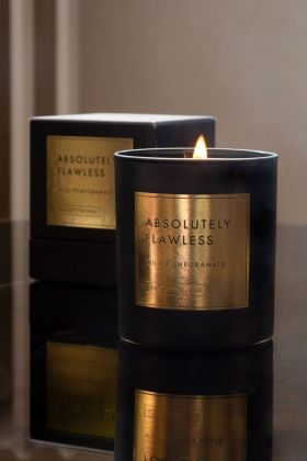 Image of the Rockett St George Absolutely Flawless - Wild Pomegranate Candle & presentation box