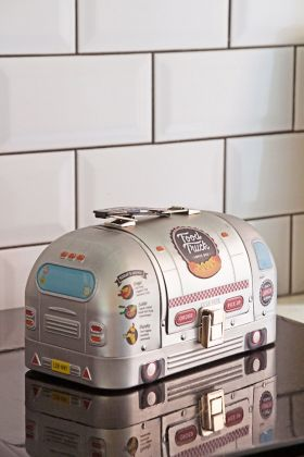 Lifestyle image of the Airstream-Style Food Truck Lunch Box