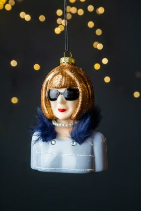 Image of the Anna Inspired Vogue Christmas Decoration