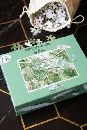 Image of the Print Club London x Luckies – Barbican Conservatory 500 Piece Artist Edition Puzzle