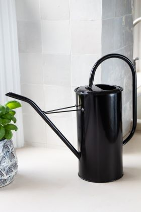 Image of the Black Metal Watering Can