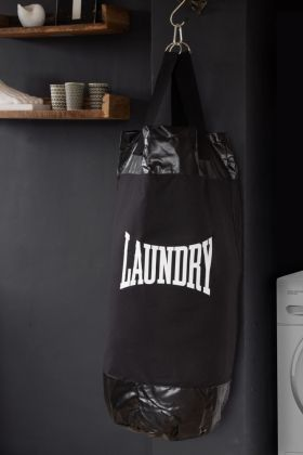 Black Punch Bag Laundry Bag