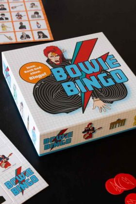 Image of the Bowie Bingo Game