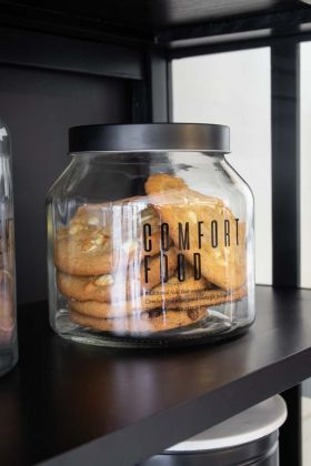 Lifestyle image of the Comfort Food Storage Jar