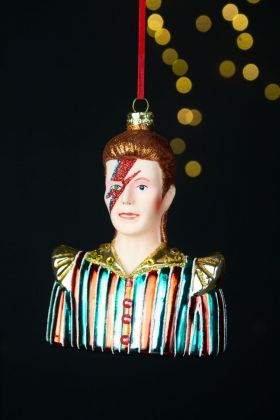 Bowie Inspired Christmas Tree Decoration
