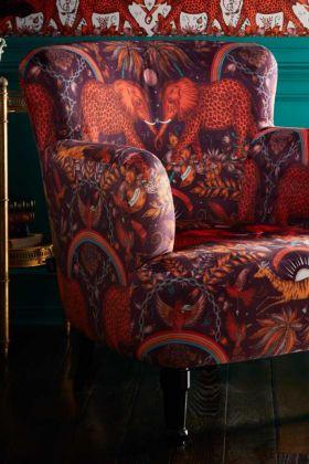 Close-up image of the Zambezi Dalston Armchair By Emma J Shipley