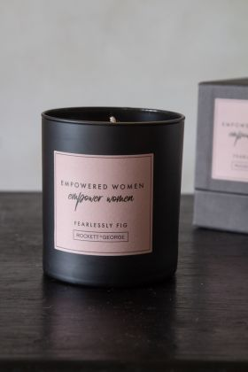 Image of the Rockett St George Empowered Woman Fig Candle