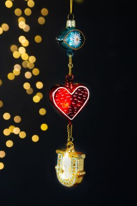 Eye Love U Christmas Tree Decoration