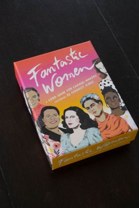 Image of the packaging for Fantastic Women: A Card Game For Change-Makers