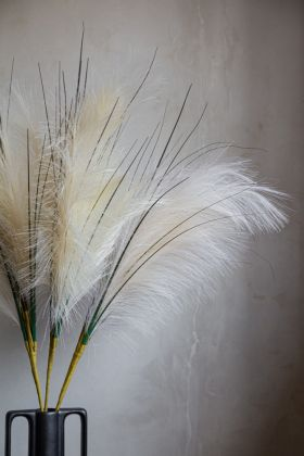 Lifestyle image of the Natural Faux Pampas Grass Stem