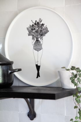 Image of the Flower Girl Plate