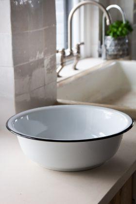 Image of the French-Style Accessory Enamel Washing-Up Bowl