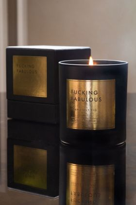 Image of the Rockett St George Fucking Fabulous - Fearlessly Fig Candle & presentation box