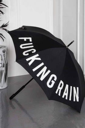 Image of the Fucking Rain Umbrella open