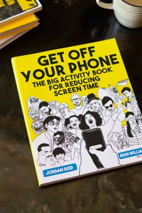 Get Off Your Phone Activity Book