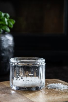 Image of the Glass Salt Container