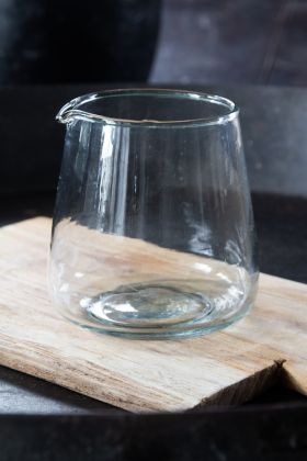 Image of the Handblown Glass Milk Jug