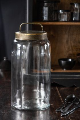 Image of the Industrial-Style Storage Jar