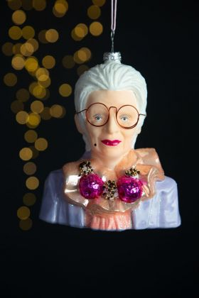 Image of the Iris Inspired Christmas Tree Decoration