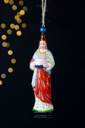 Jesus Birthday Cake Christmas Tree Decoration