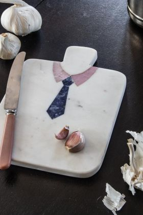 Image of the Marble Tie Cutting Board
