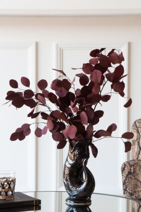 Lifestyle image of the Burgundy Natural Eucalyptus Stem