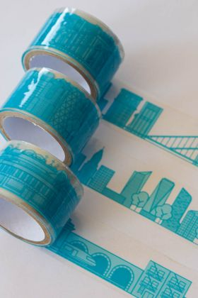 Image of the New York Gift Wrap City Tape