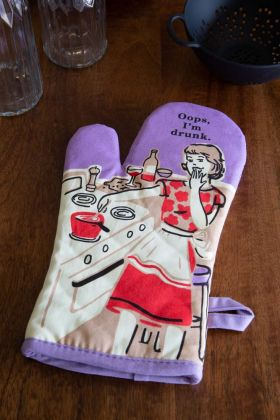 Image of the Oops, I'm Drunk Oven Glove