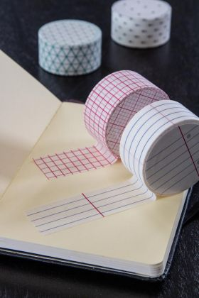 Pack Of 4 Gift Wrap Memo Tape