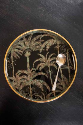 Image of the Palm Tree Pattern Display Tray