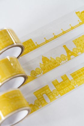 Image of the Paris Gift Wrap City Tape