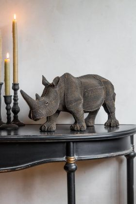 Image of the Pearl Rhino Ornament
