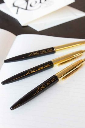 Set Of 3 Fuck Yeah Pens