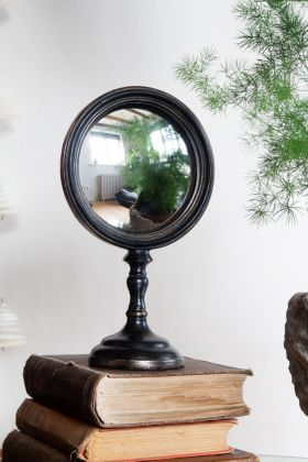 Image of the Short Convex Vanity Mirror