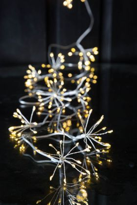 Silver Starburst Light Chain