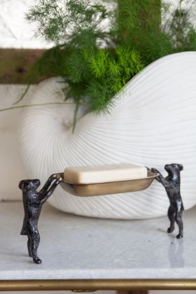 Image of the Standing Dogs Trinket Tray