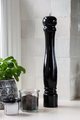 Lifestyle image of the Tall Black Pepper Mill