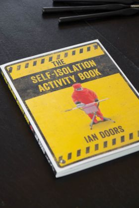 Image of the front of the The Self-Isolation Activity Book