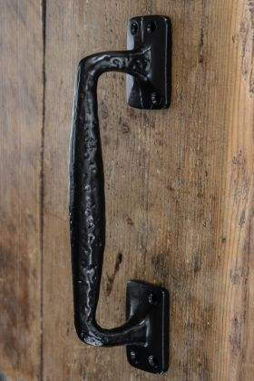 Traditional Black Door Handle