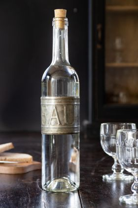 Image of the Traditional French 'Eau' Water Bottle