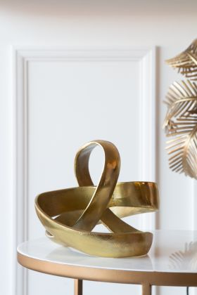 Image of the Twist Of Gold Display Ornament