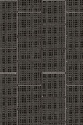 NLXL VOS-18 Vintage Square Webbing Wallpaper by Studio Roderick Vos - Black - ROLL