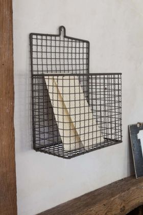 Wirework Wall Hung Letter Holder